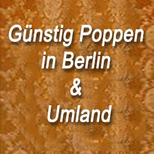 Günstig Poppen in Berlin & Umland